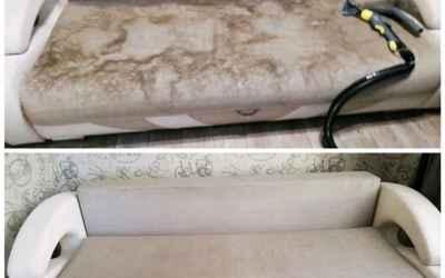 Химчистка мягкой мебели(так же мебели из кожи) оказываем услуги