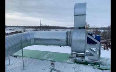 Монтаж вентиляции, кондиционеров оказываем услуги