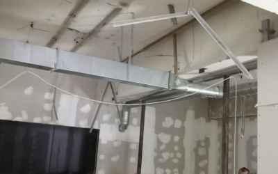Монтаж вентиляции и кондиционеров оказываем услуги