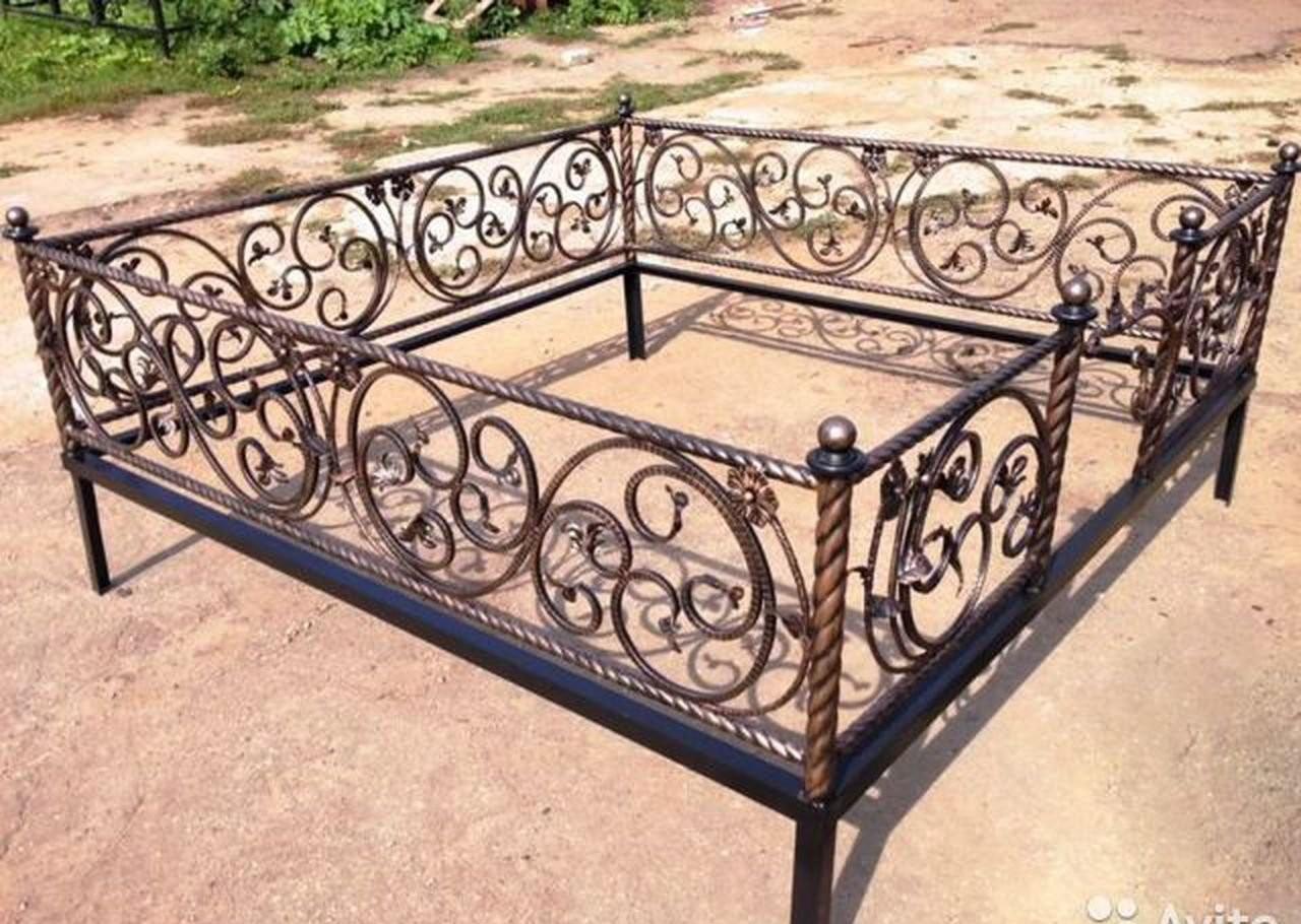 Ритуальные ограды,художественная ковка оказываем услуги