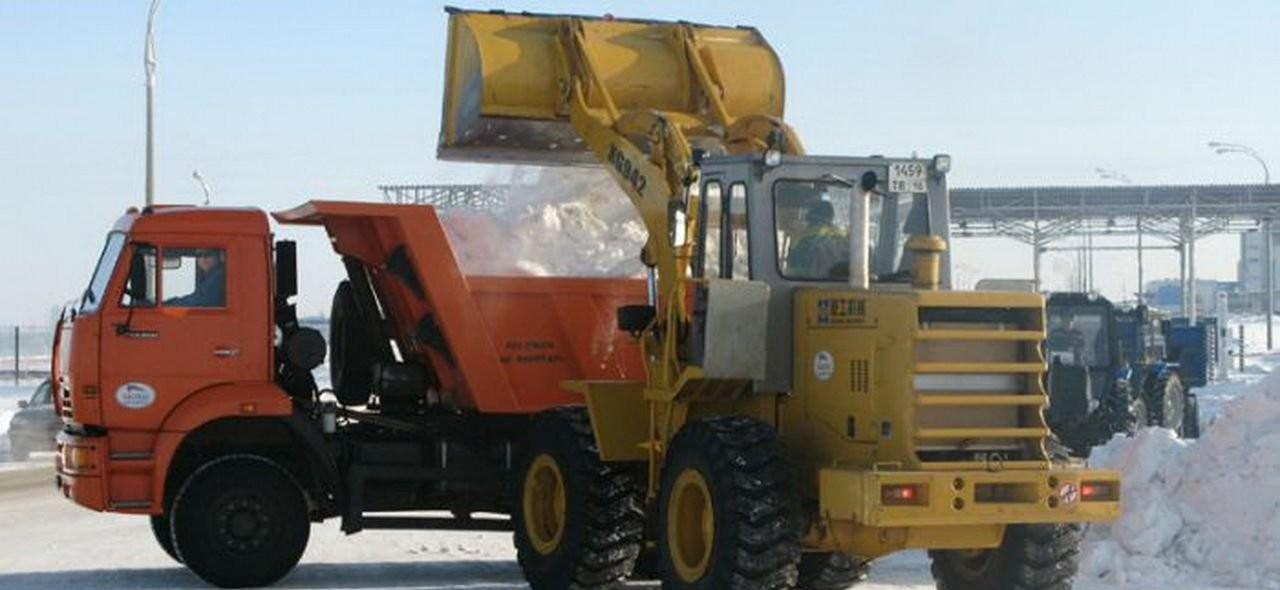 Уборка- вывоз снега, строительного мусора оказываем услуги