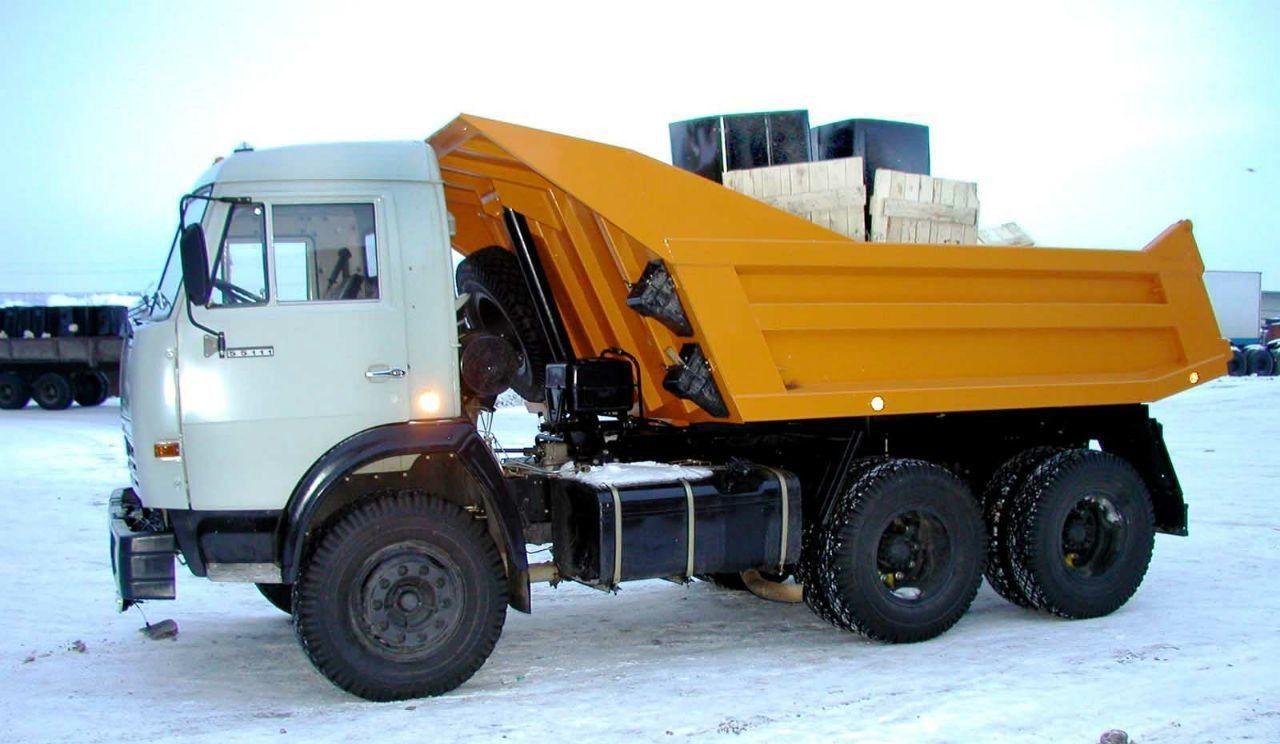 Камаз самосвал для вывоза строительного мусора оказываем услуги