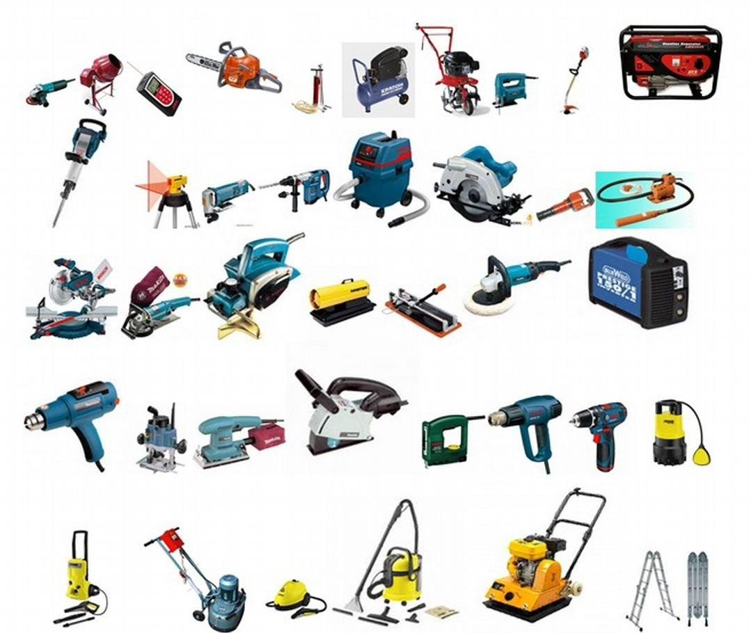Прокат инструментов оказываем услуги